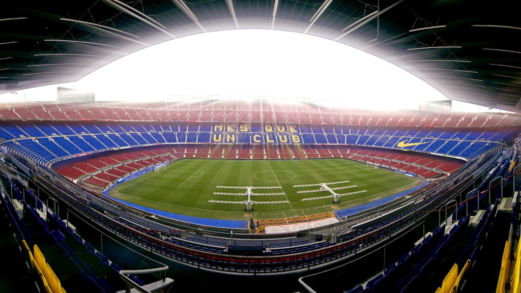 Camp Nou HD Wallpaper Fc Barcelona Photo 1024x576