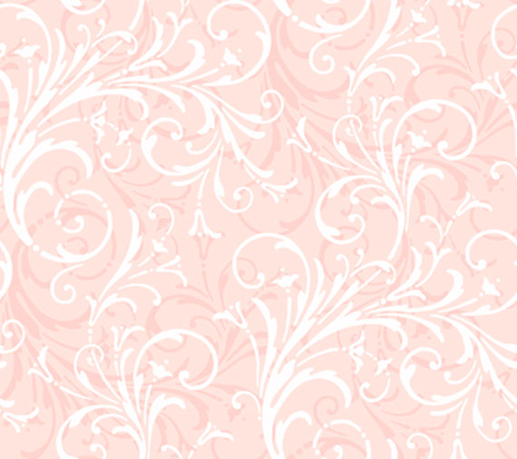 Light Pink Layered Scroll Wallpaper   Wall Sticker Outlet 570x506