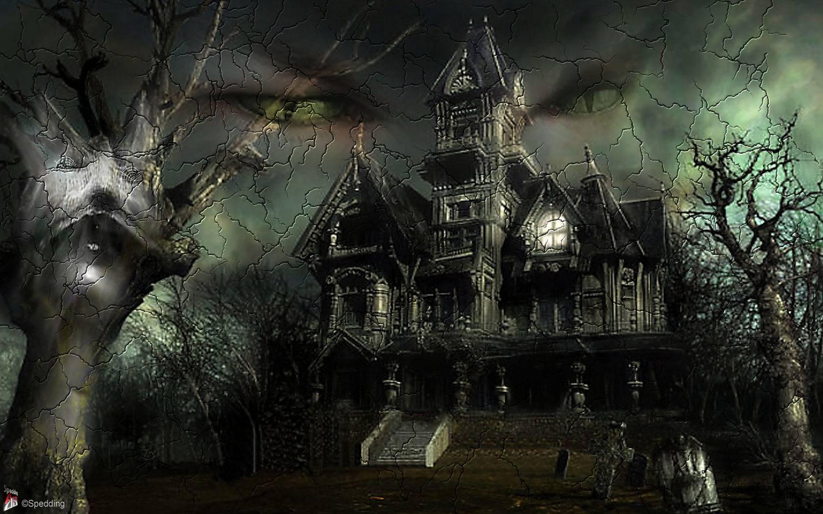 Halloween day desktop wallpaper   SF Wallpaper 1680x1050