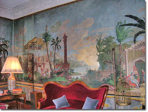 Antique Mural Wallpaper Wallpapersafari