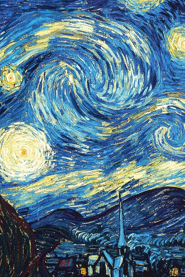 43 Starry Night Phone Wallpaper On Wallpapersafari