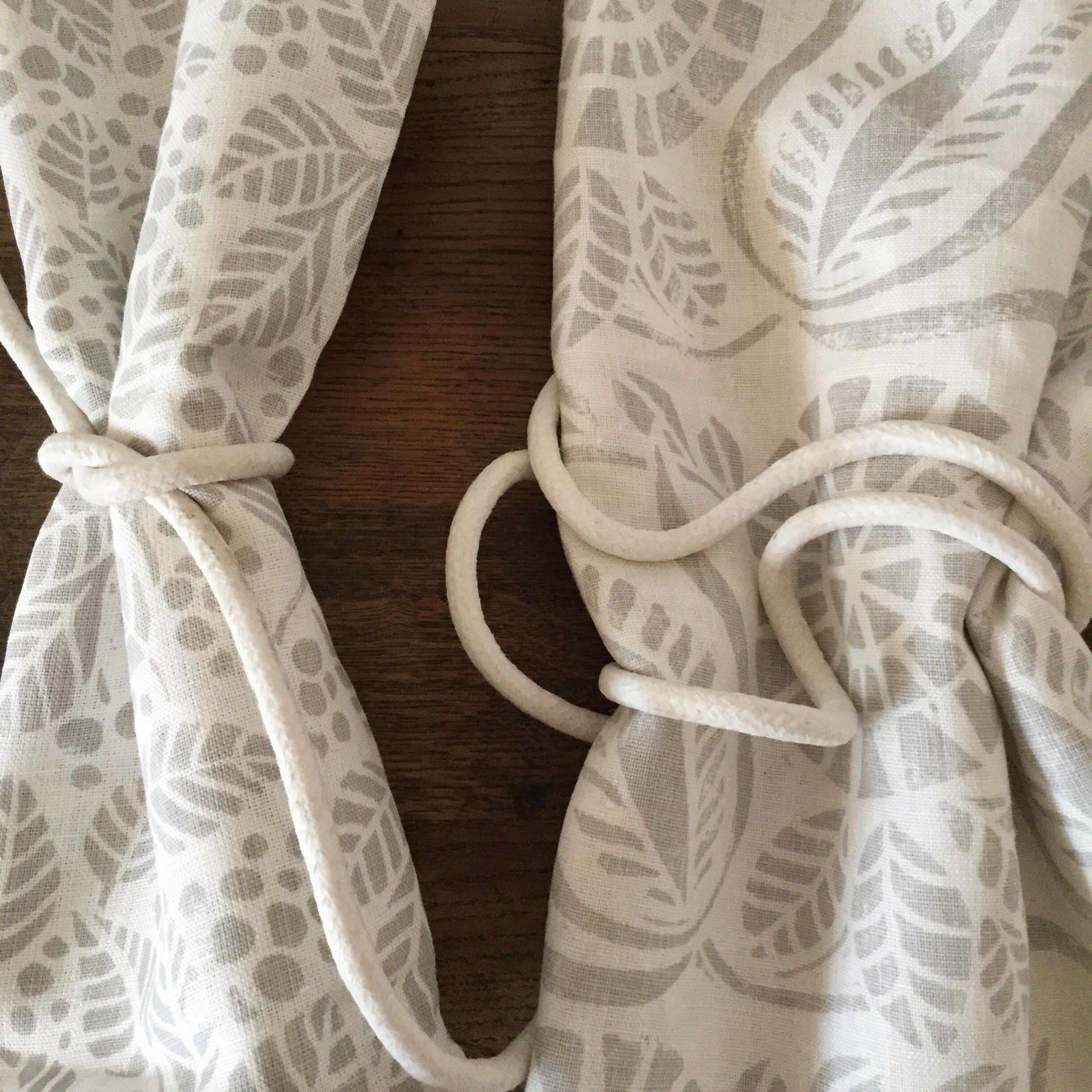 Pale Grey Bloomsbury Tibbs on white linen Hand silkscreened 2447x2447