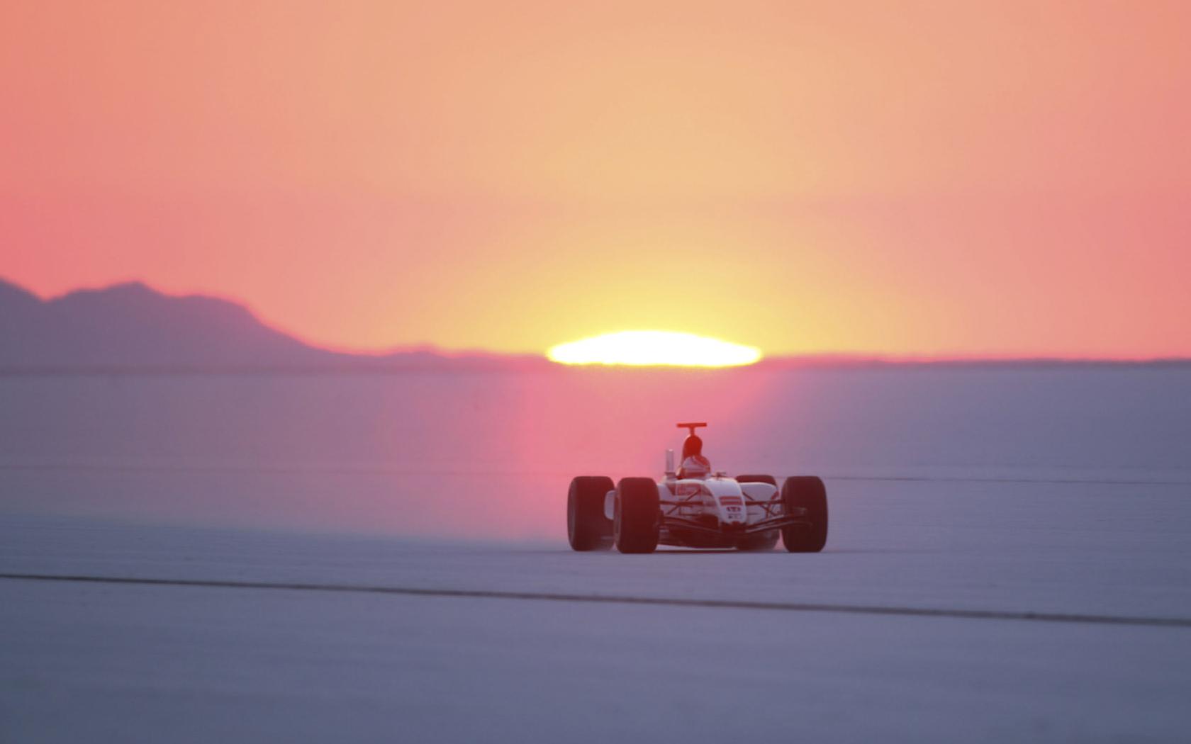 BAR Honda Bonneville Salt Flats Utah USA 2006 land speed 1680x1050