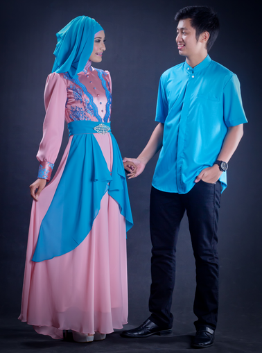 Model Baju Couple Muslimah PC Android iPhone and iPad Wallpapers 378x509