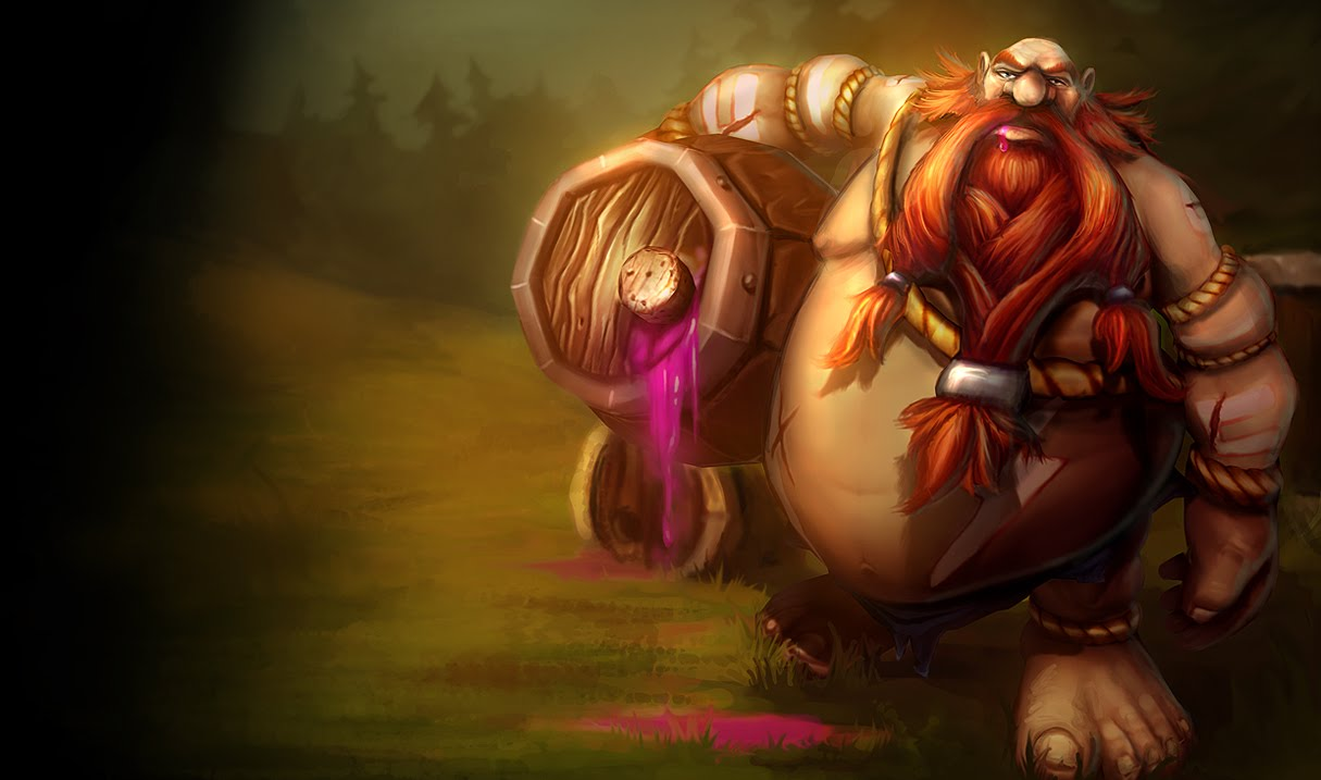 Gragas Classic Skin Original   League of Legends Wallpapers 1215x717