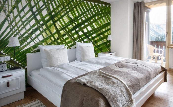 Palm Leaves Wallpaper Removable Wallpaper for sale in Richmond 700x435