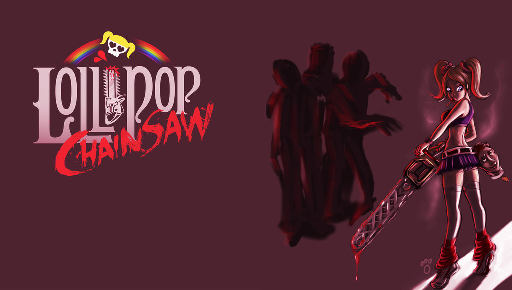 Lollipop Chainsaw Wallpaper by pandatails 1024x580