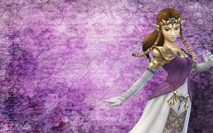 Princess Zelda Wallpaper by HydrogenLullaby 900x563