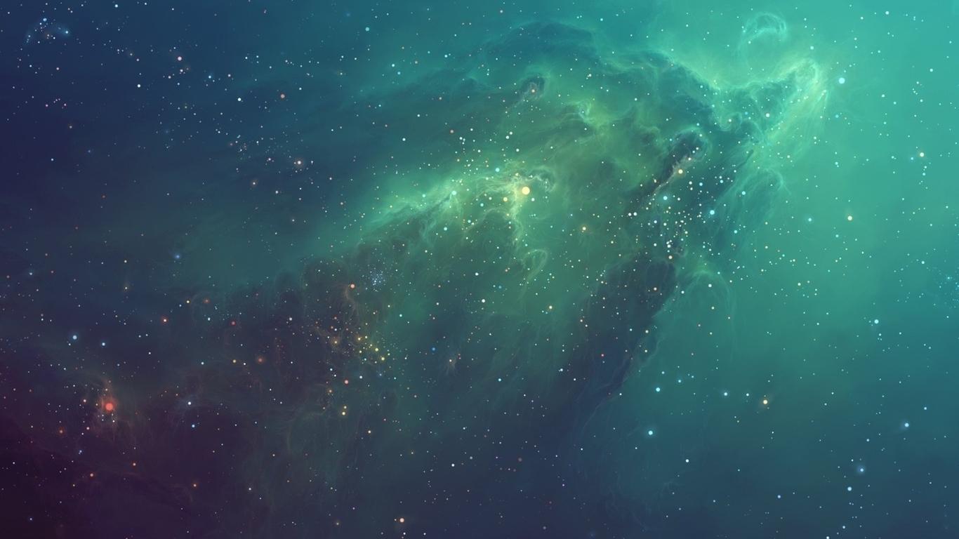 Galactic Nebula Mac Wallpaper Download Mac Wallpapers Download 1366x768