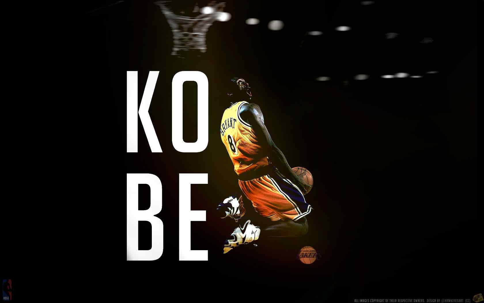 FunMozar Kobe Bryant Wallpaper Black Mamba 1680x1050