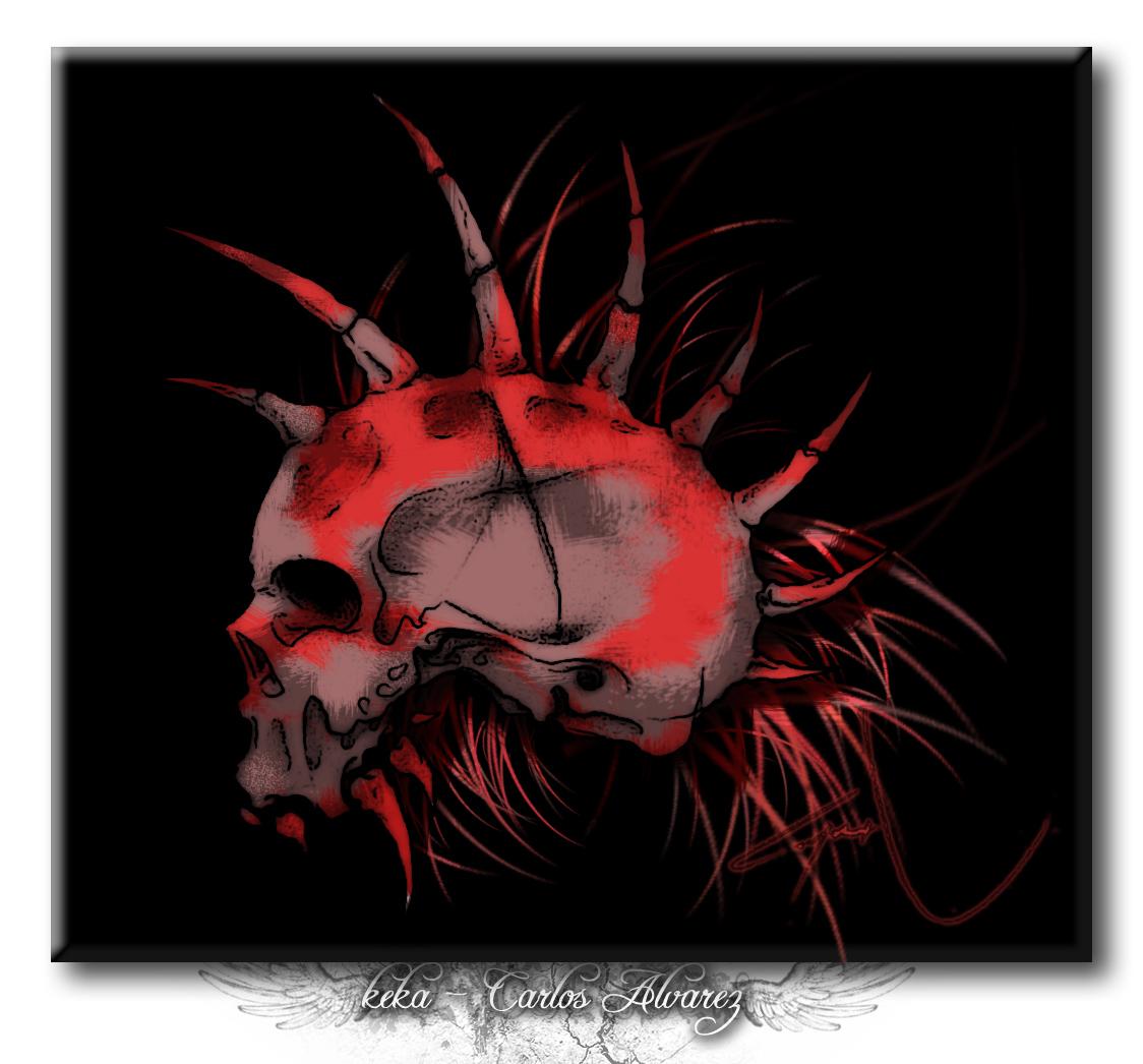 Punk Wallpaper: Punk Skull Wallpaper