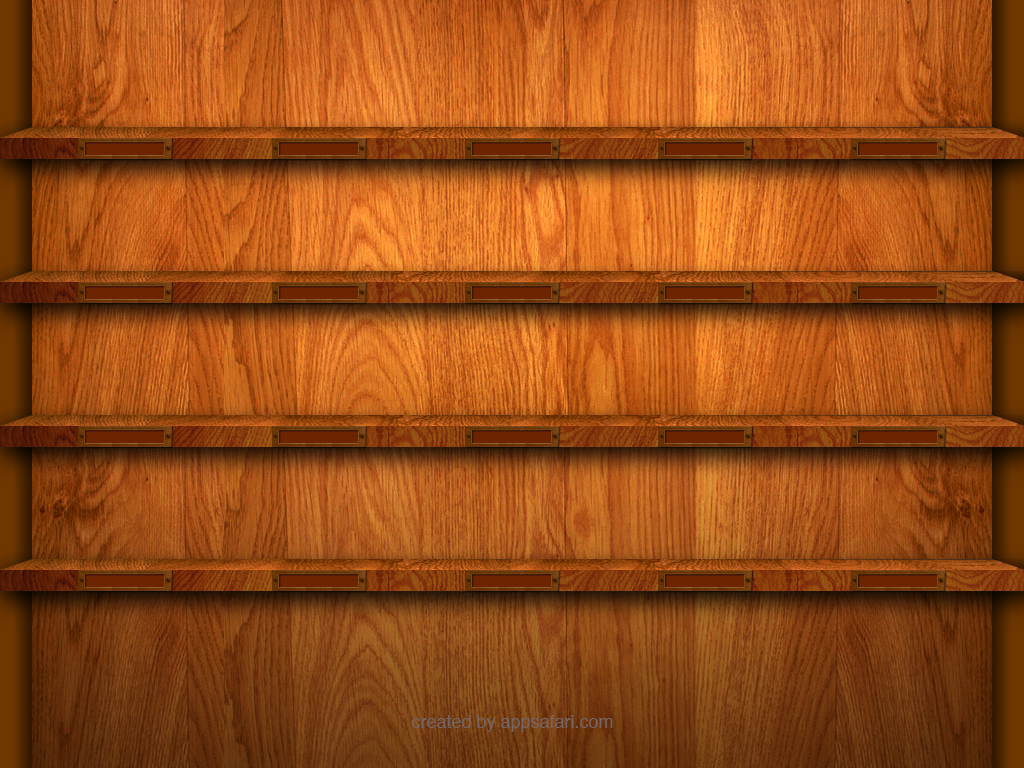 15 Reviews on iPad Shelf Wallpaper Template and Contest 1024x768