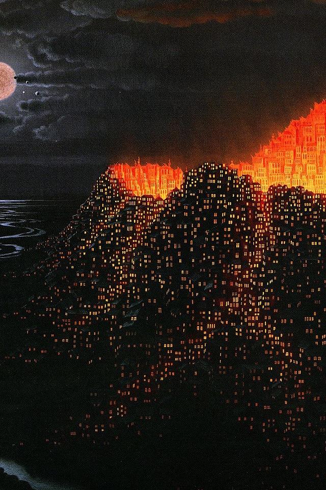 Volcanic eruption iPhone 4s Wallpaper Download iPhone Wallpapers 640x960