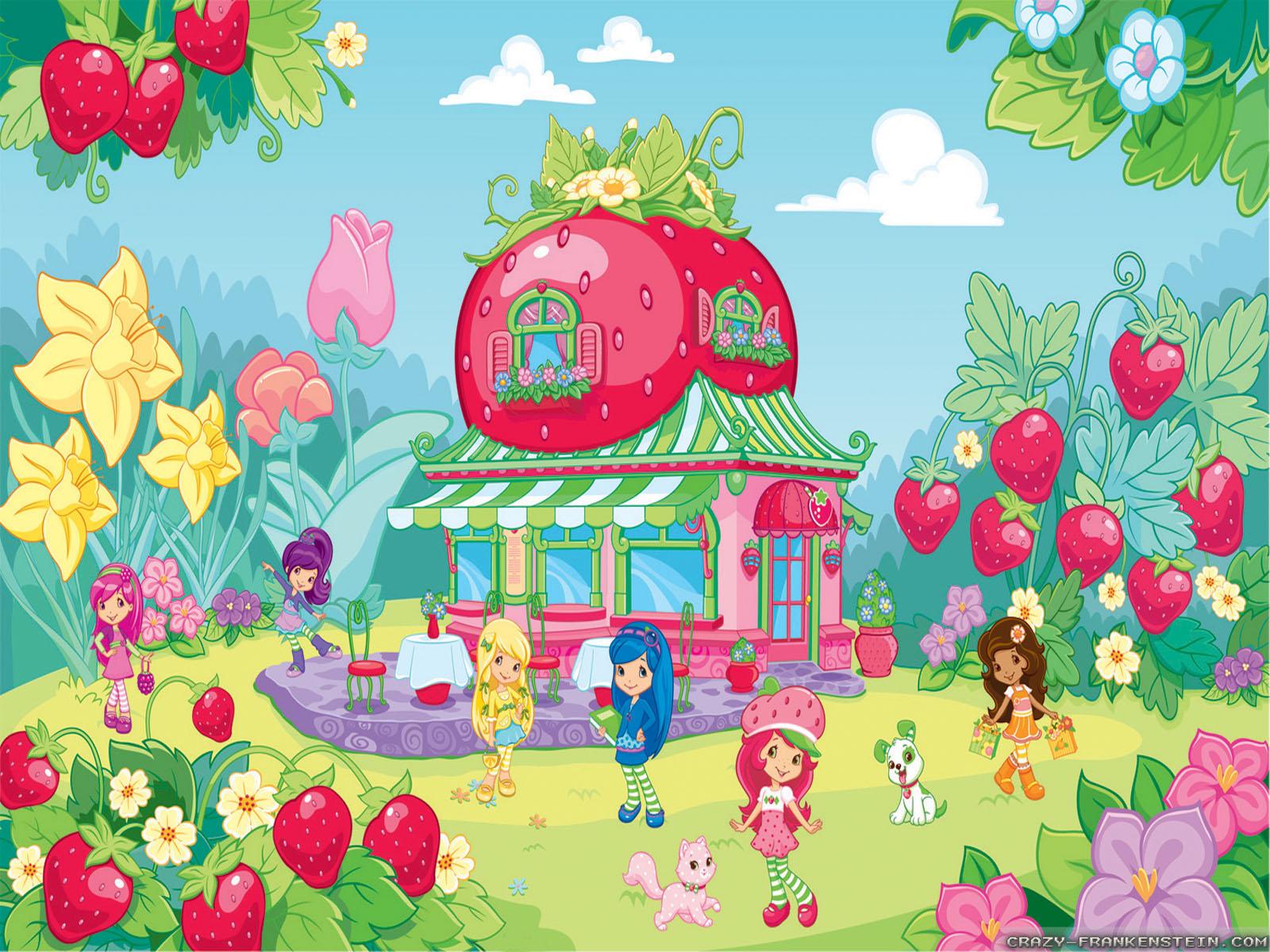 Strawberry Shortcake 1600x1200