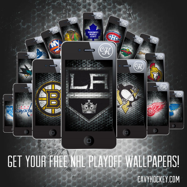 FREE NHL Playoff Wallpapers DOWNLOAD   CavyHockey 612x612