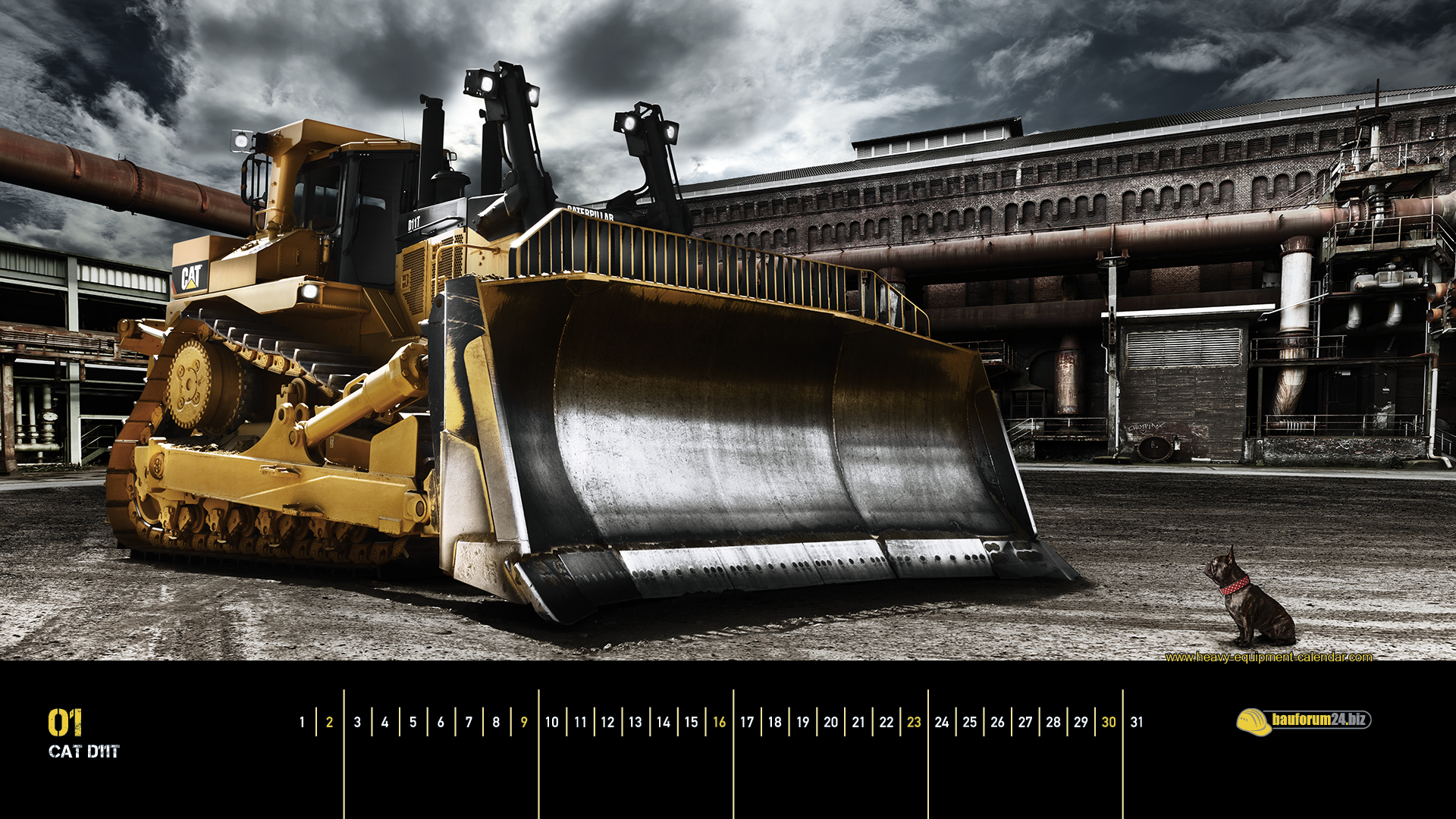 Caterpillar Machines Wallpaper 1920x1080