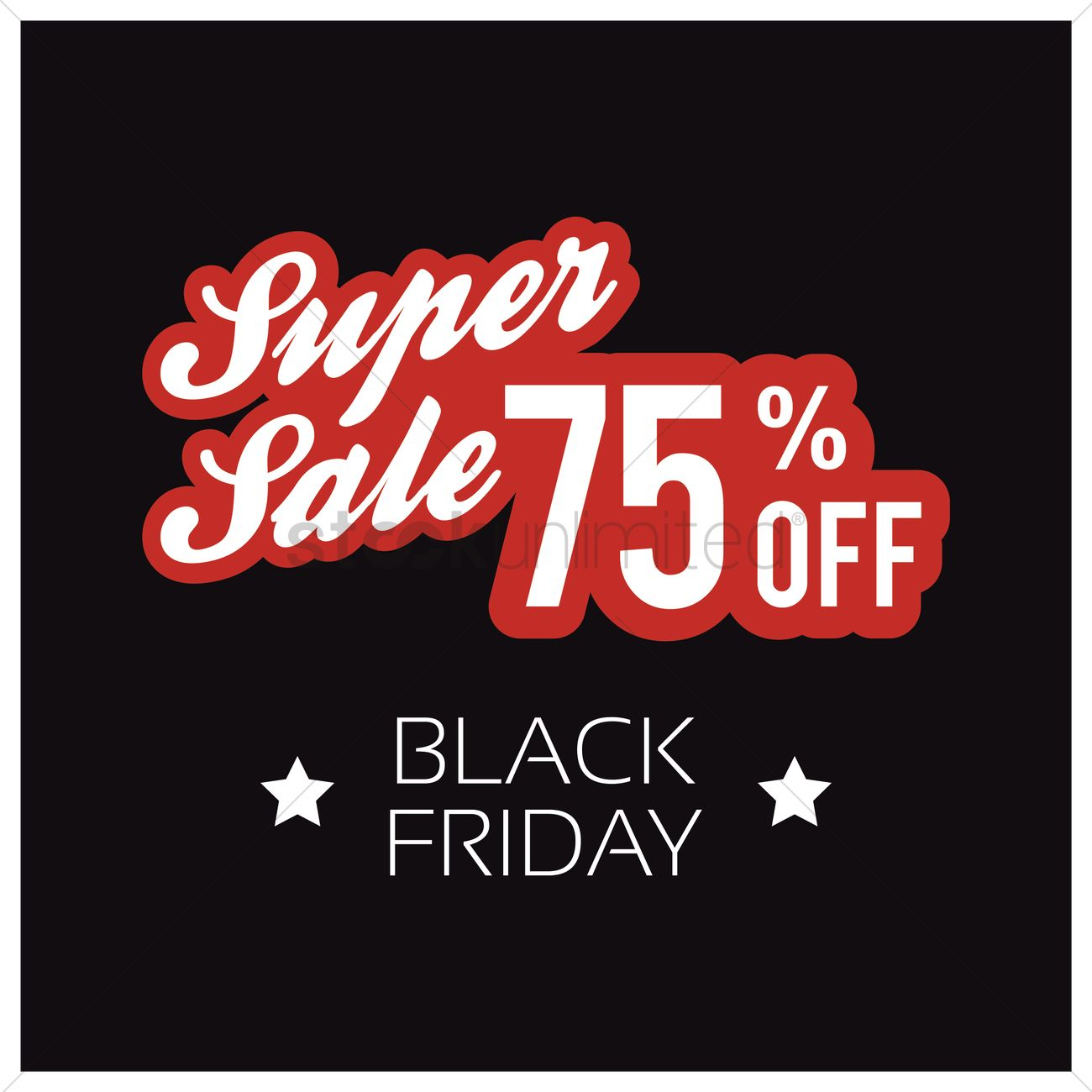 Black friday sale wallpaper Vector Image   1583539 StockUnlimited 1300x1300