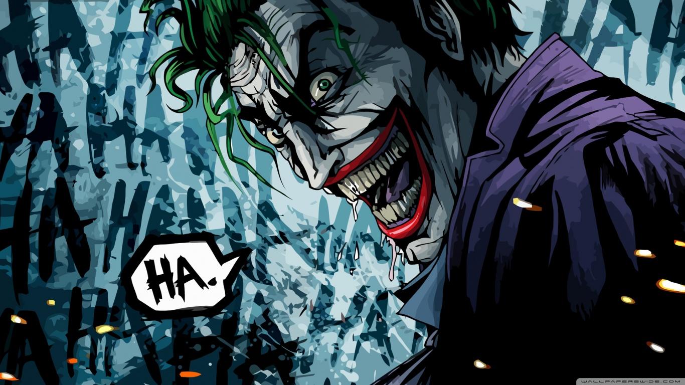 the joker wallpaper 1366x768 1366x768