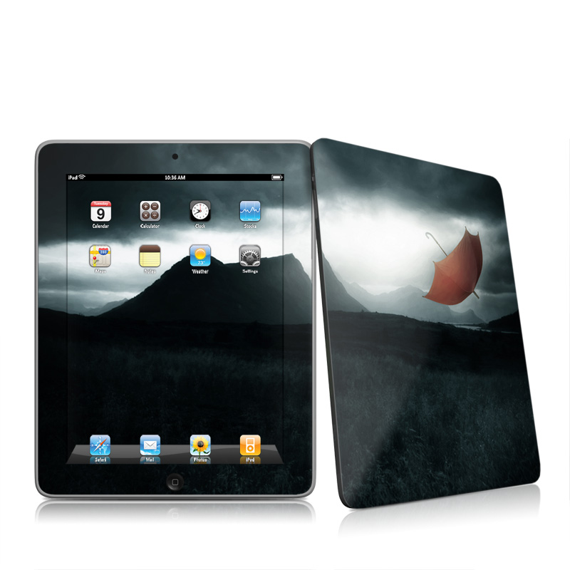 Apple iPad iPad 2010 1st Gen Blown Away Apple iPad 1st Gen Skin 800x800