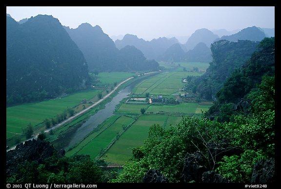 PicturePhoto The Karstic landscape of Hoa Lu Ninh Binh Vietnam 576x388