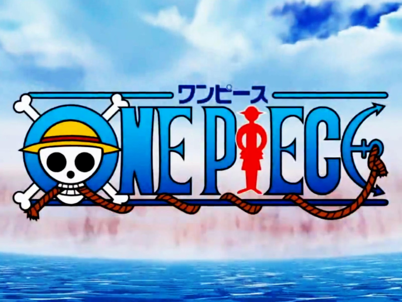 One Piece Wallpaper One Piece Logo Wallpaper 1600x1200