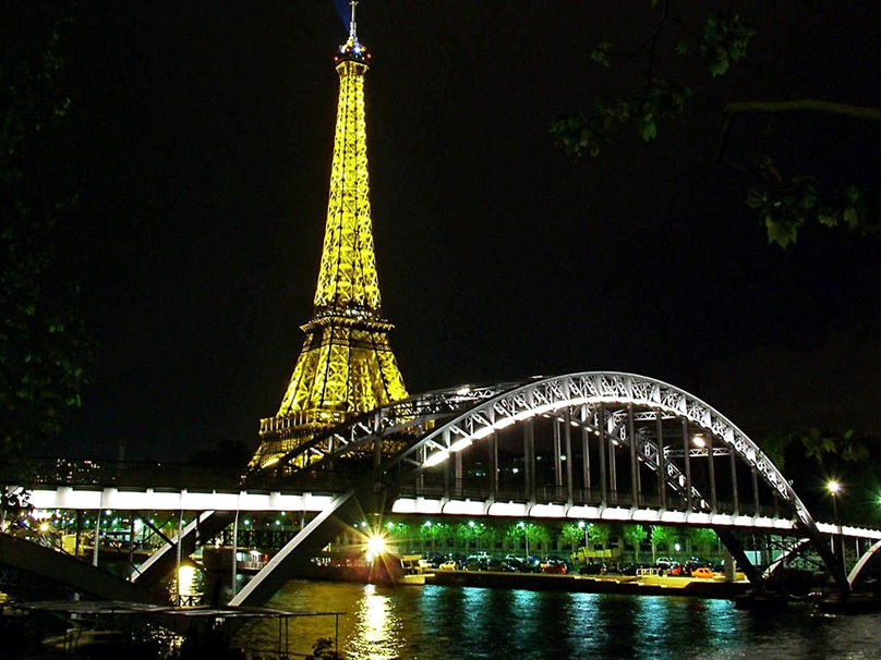 Paris Night wallpaper   ForWallpapercom 808x606