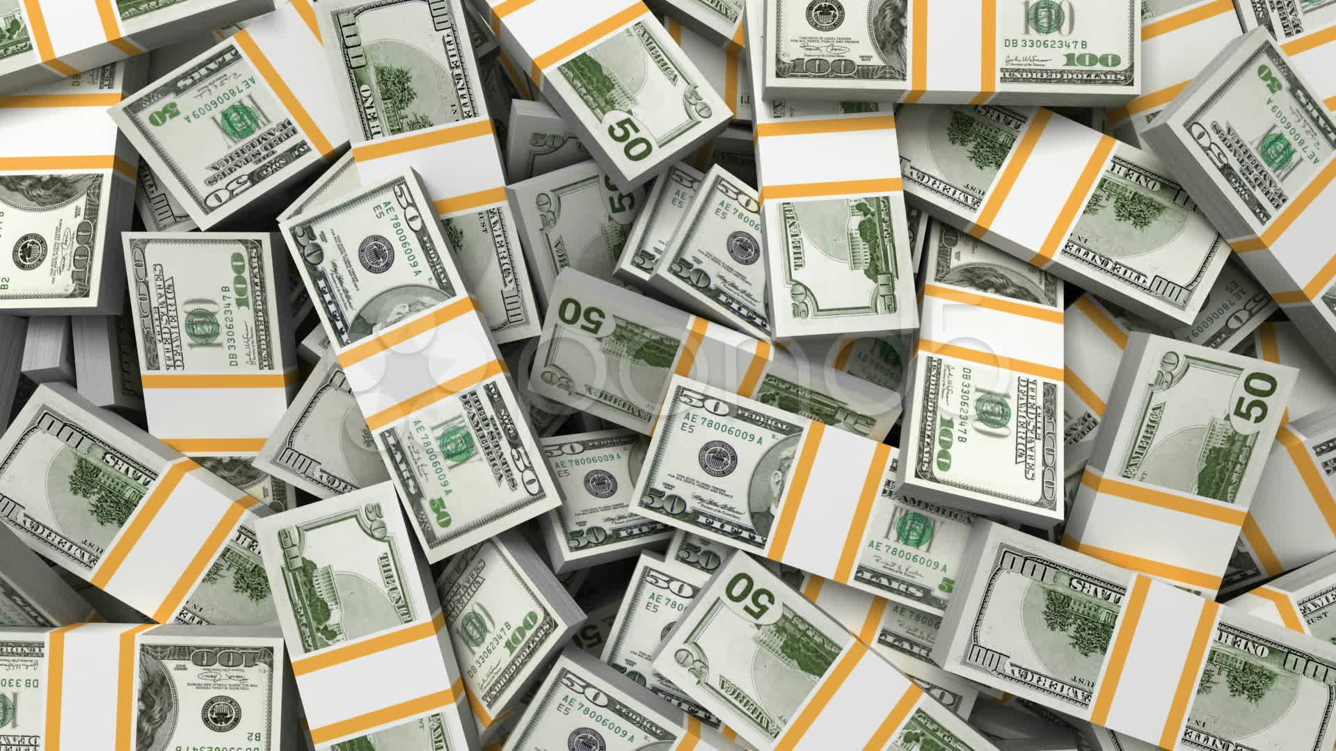 Money Background Dollars Stock Video 11371799 HD Stock Footage 1920x1080