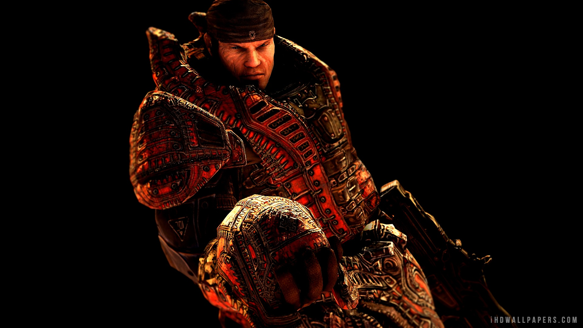 Free Download Marcus In Gears Of War Hd Wallpaper Ihd Wallpapers