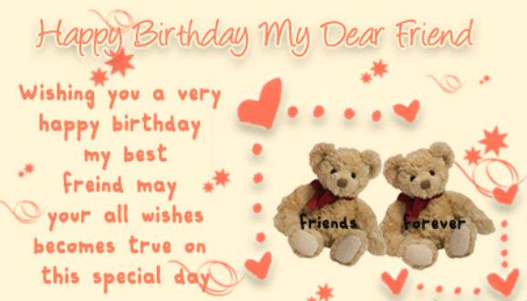 happy birthday friend wallpaper 578x330