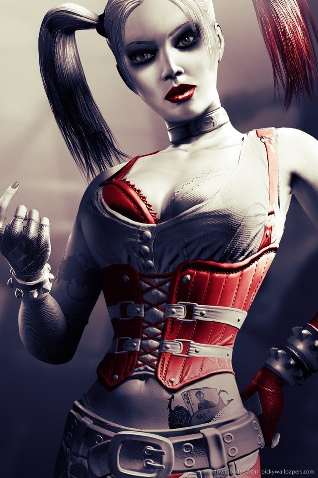 Sexy Iphone Quinn Harley Download Wallpaper Movies Tvshows 640x960