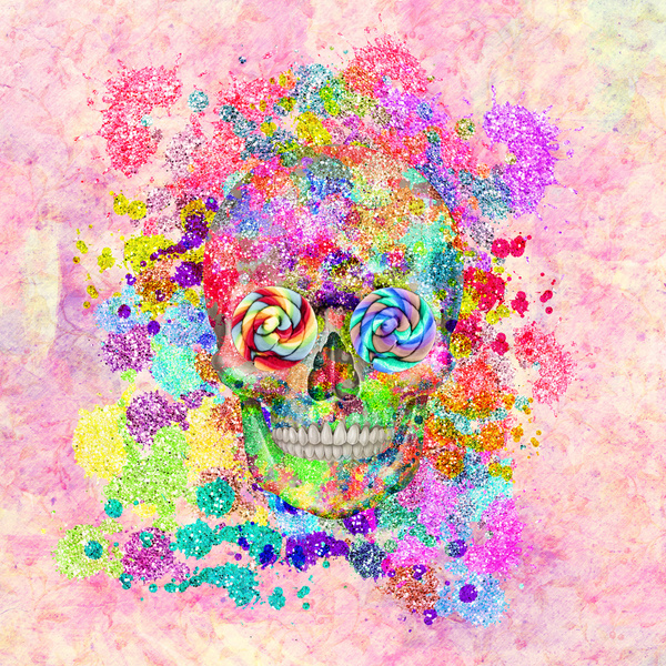 Cute Sugar Skulls Wallpaper Girly