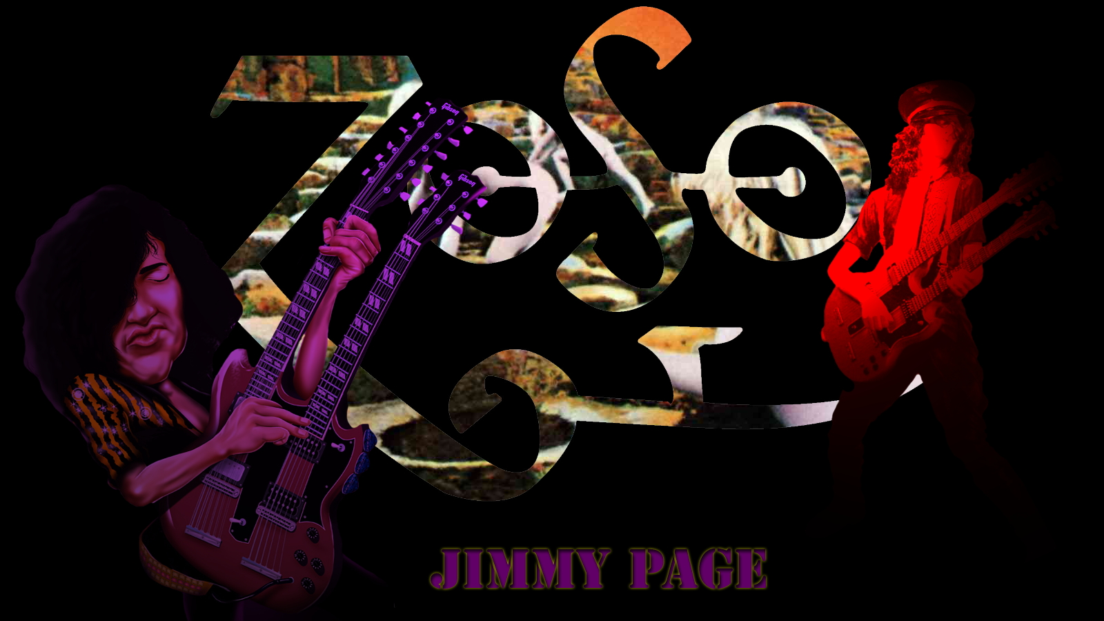 Jimmy Page HD Wallpapers 1600x900
