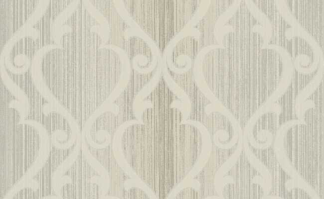 Celeste Trellis Wallpaper in Metallic and Sand design by Seabrook Wall 650x400
