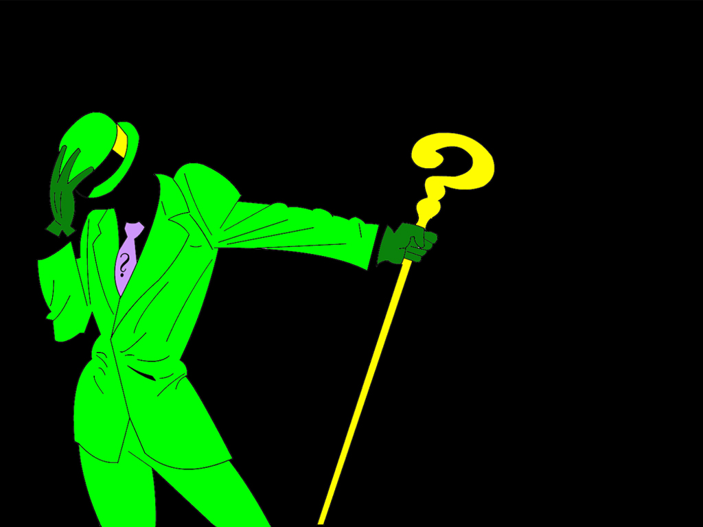 the riddler riddle HD Wallpaper   General 959326 1024x768