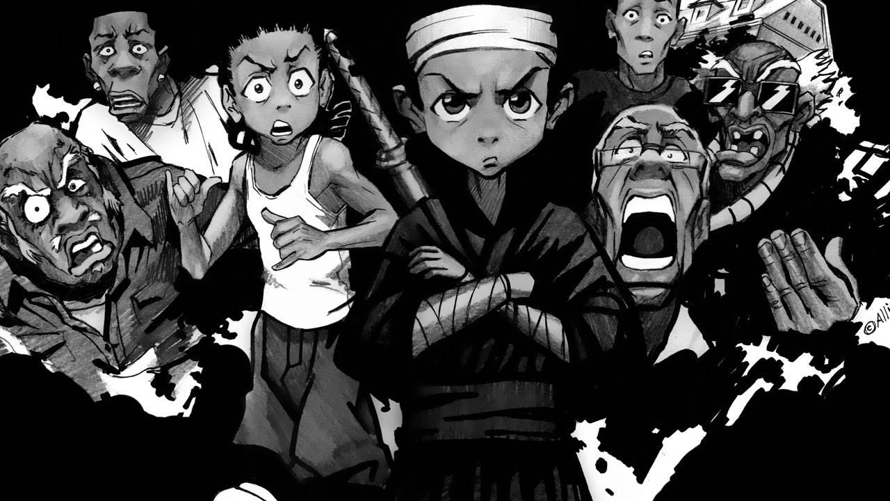 The Boondocks Iphone Wallpaper Anime wallpaper 1280x720