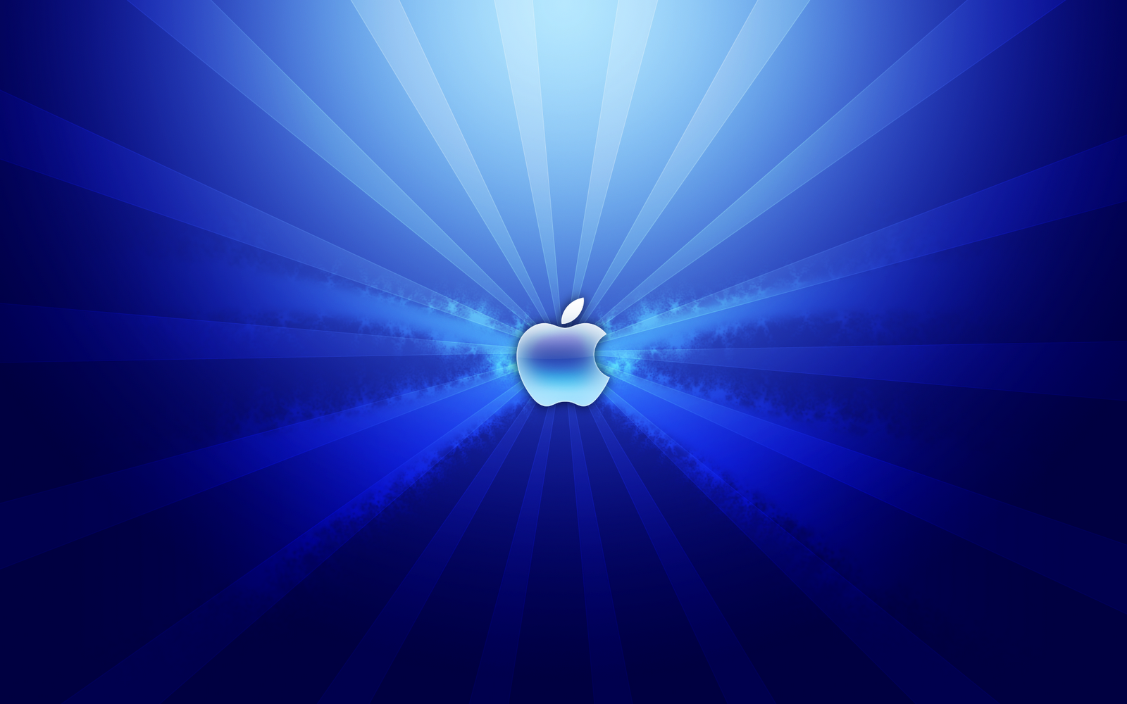 Blue Apple Laptop Wallpaper here you can see Light Blue Apple Laptop 1600x1000