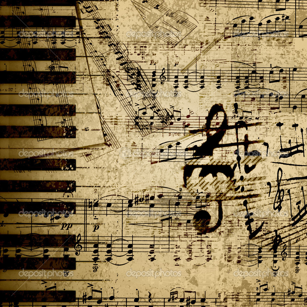 Vintage Music Sheet Wallpapers The Art Mad Wallpapers 1024x1024