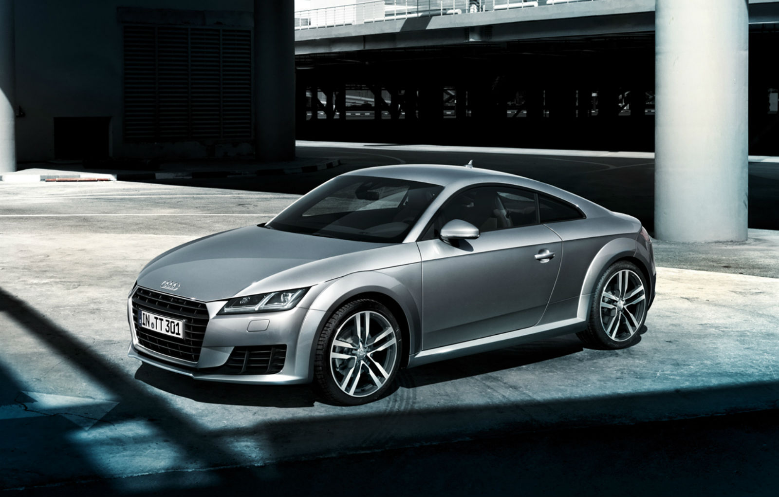 2015 Audi TT Sport Car Wallpaper   HD 1600x1020