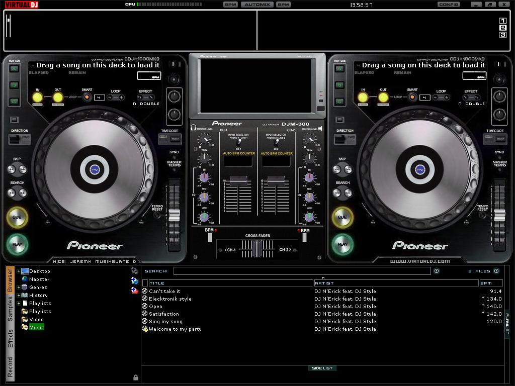 Download Gadgets Info Available Virtual Dj Wallpaper Download