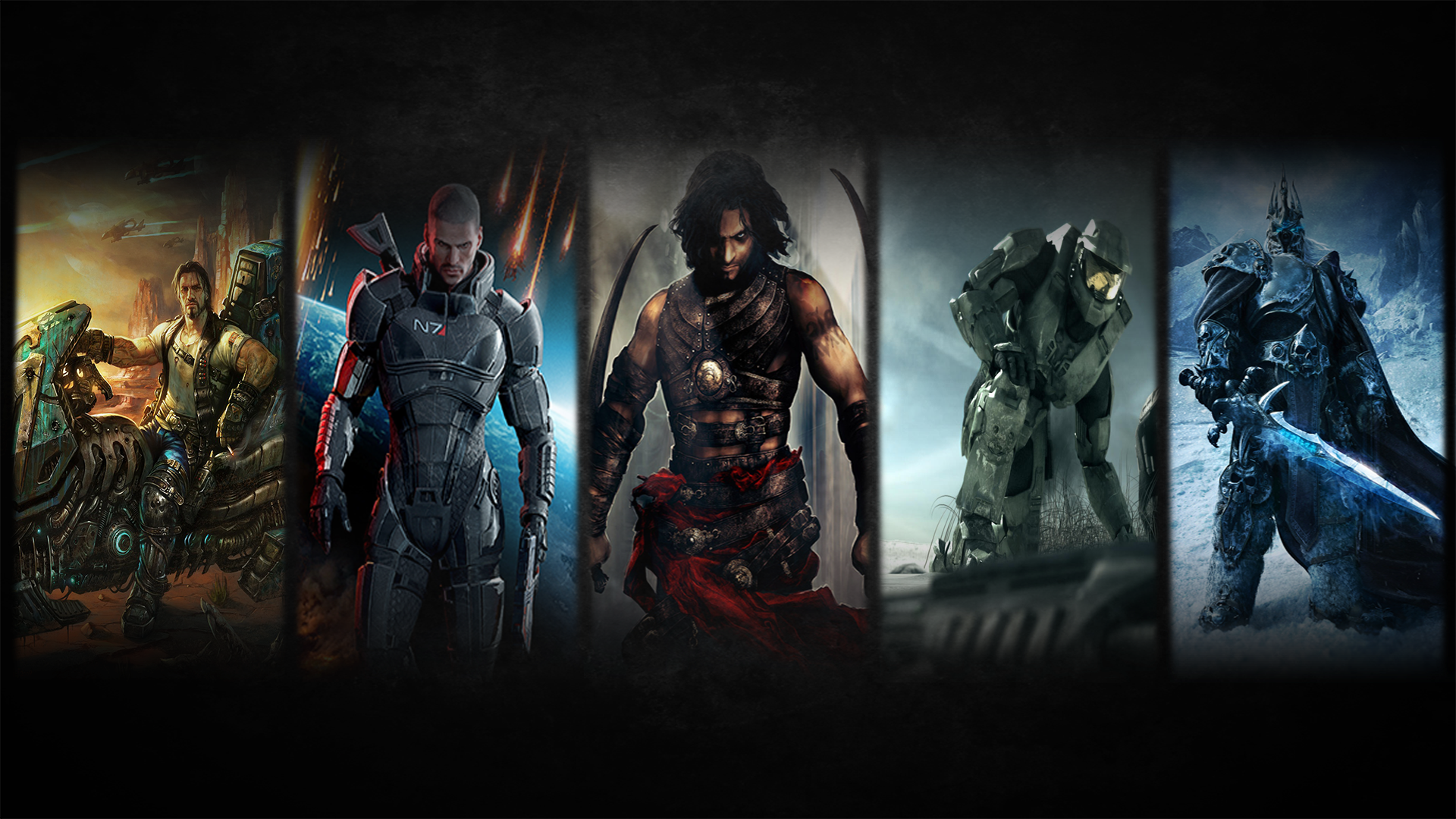 Download Wallpaper 1920x1080 Mortal Kombat Characters Name Game