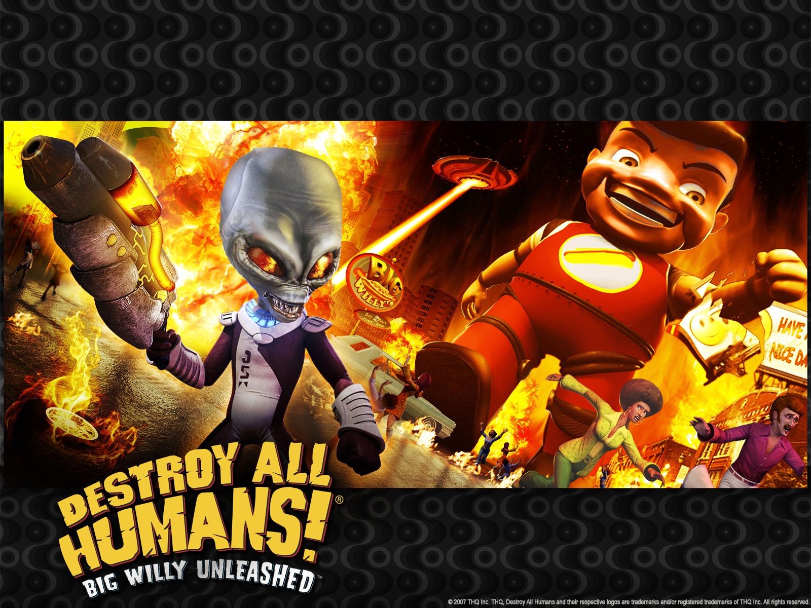 Big Willy   Destroy All Humans Big Willy Unleashed 1600x1200