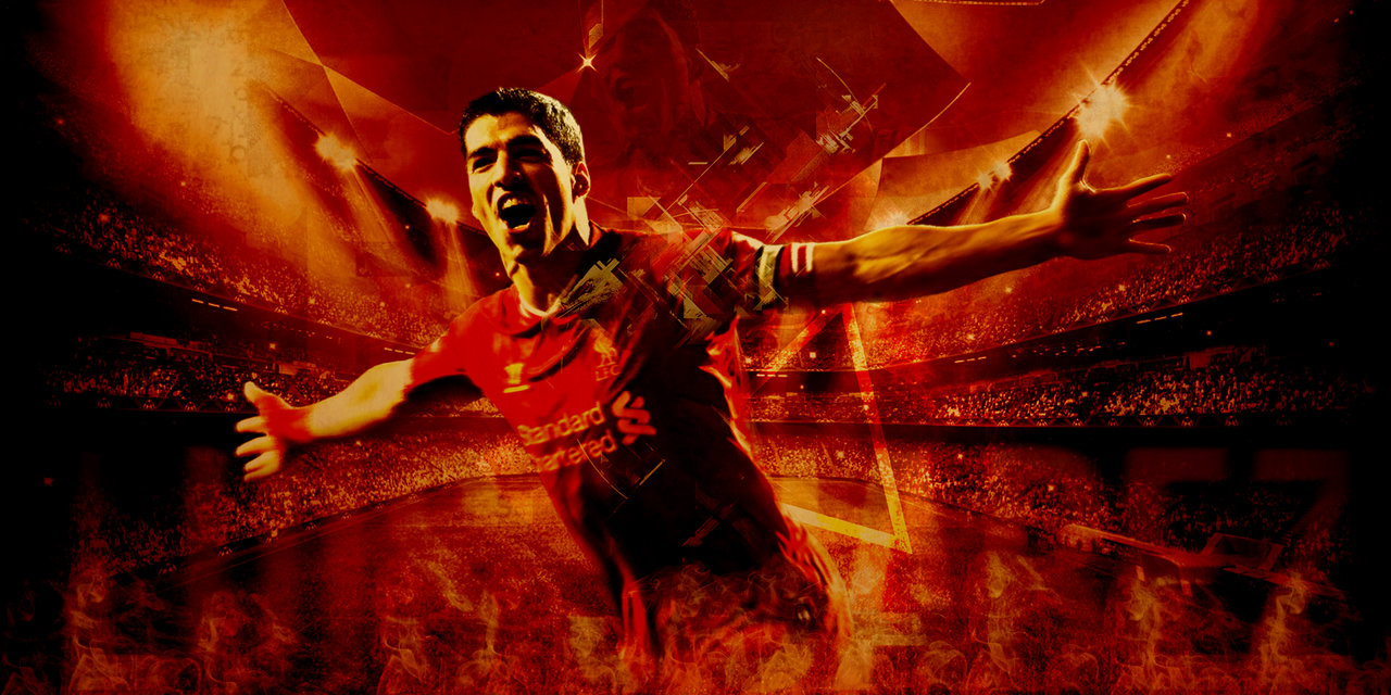 Luis Suarez Wallpaper by bluezest1997 1280x640