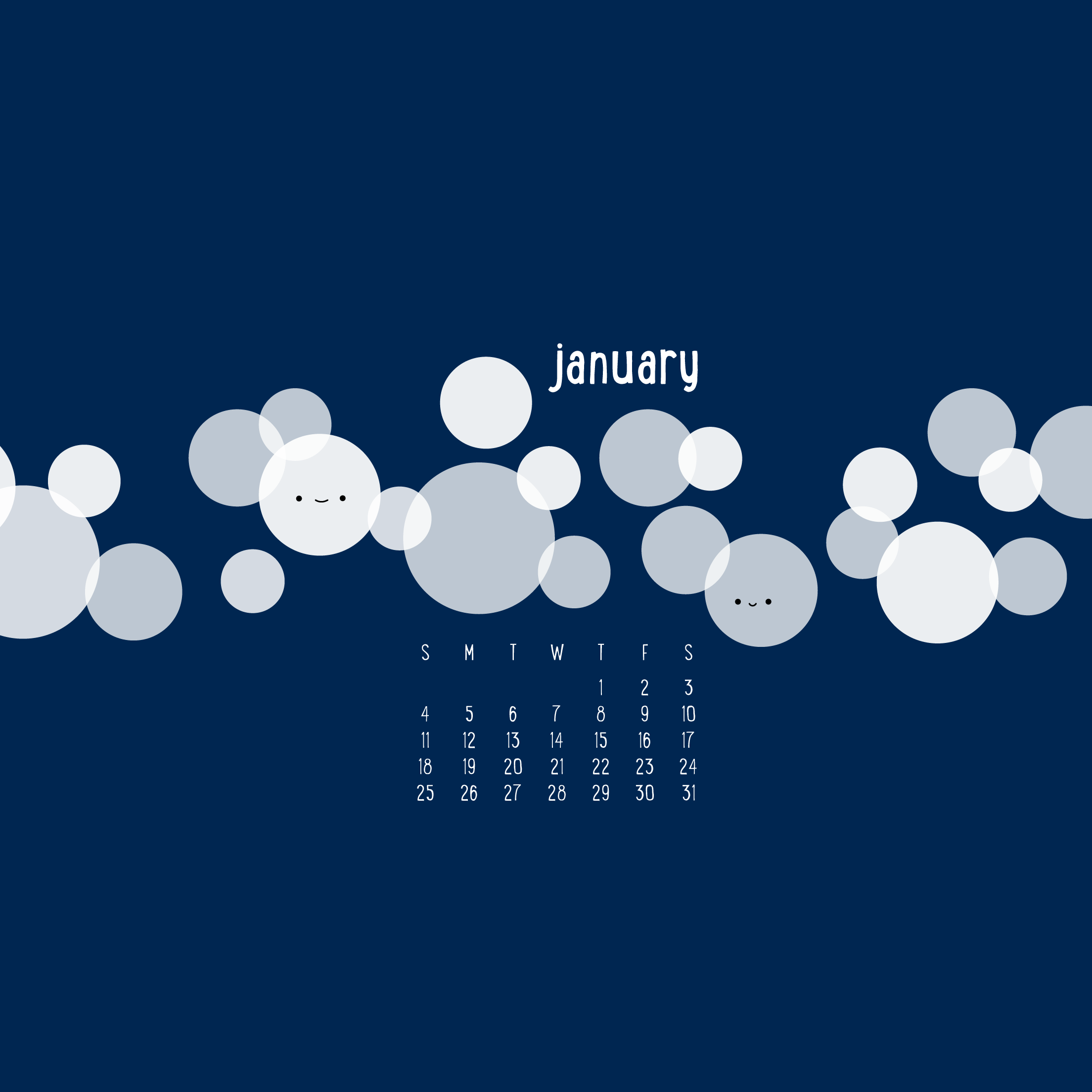Wild Olive calendar circling january 2208x2208