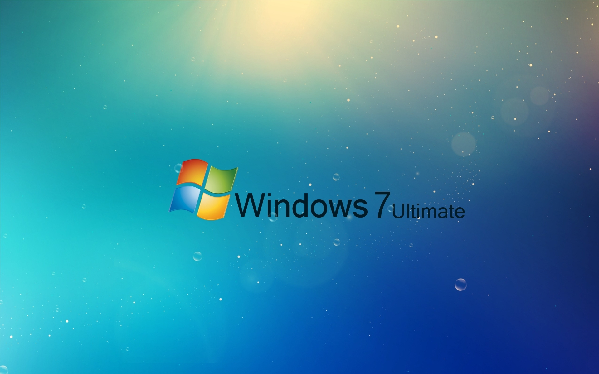 HD Blue Abstract Wallpapers for Windows 7 Ultimate 1920x1200