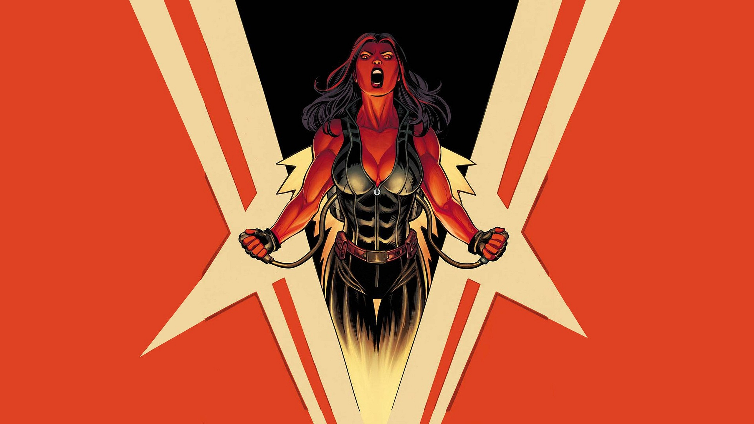 Red She Hulk Computer Wallpapers Desktop Backgrounds 2560x1440