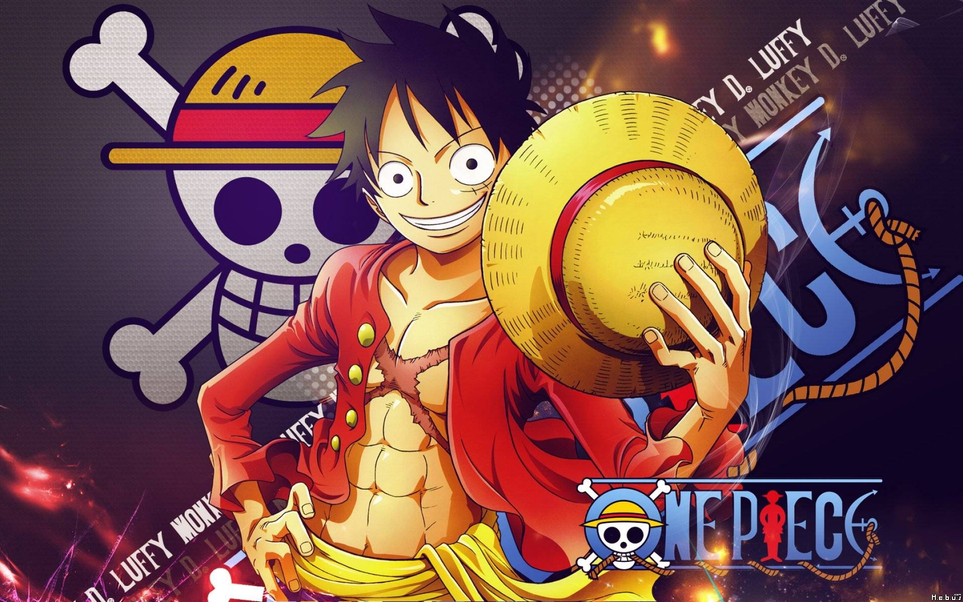 stuffpoint one piece images wallpapers luffy new world hd tweet 1920x1200