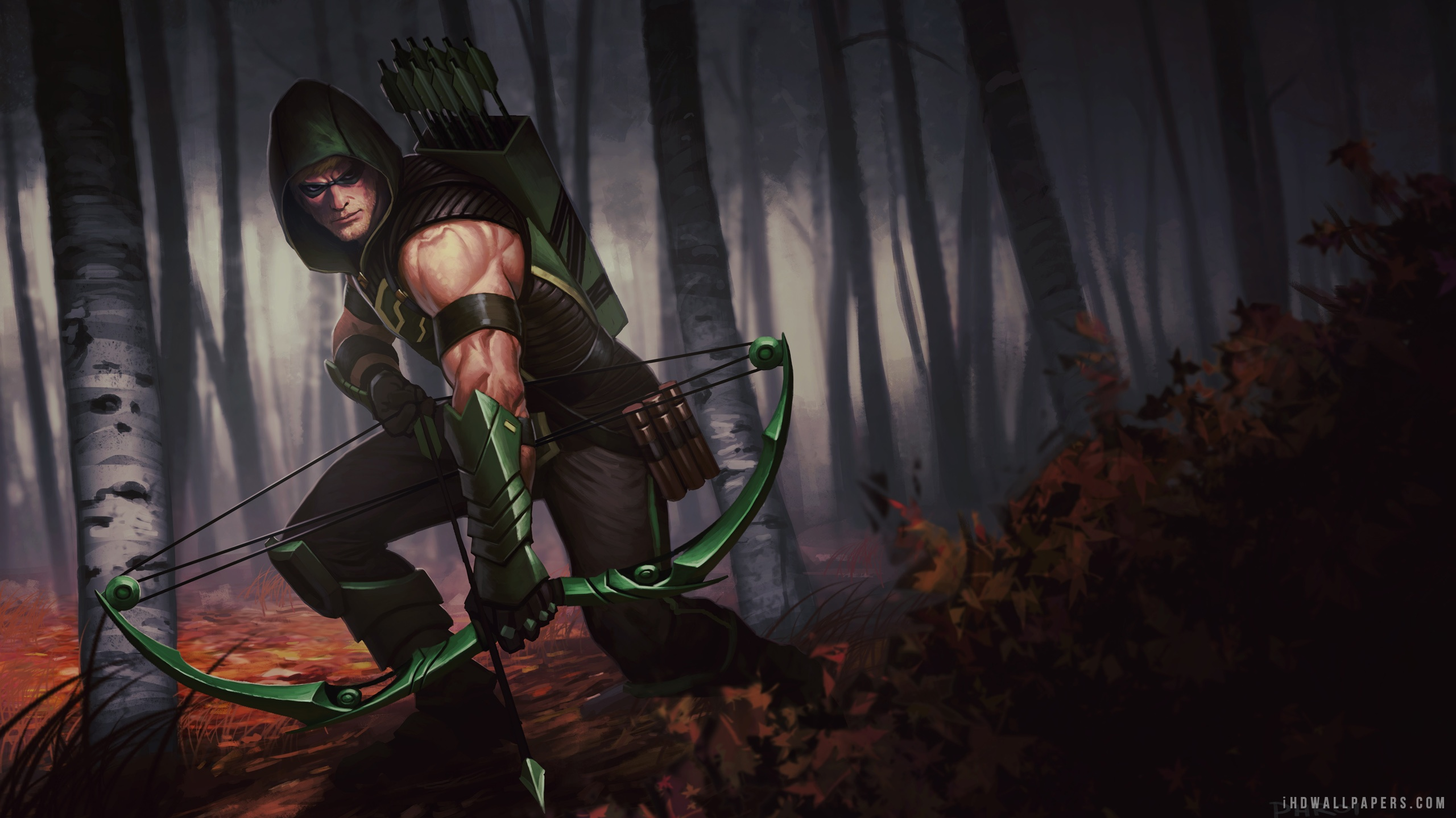 Infinite Crisis Green Arrow HD Wallpaper   iHD Wallpapers 2560x1440