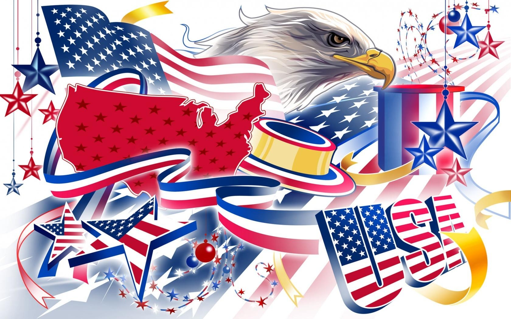 4th of July Wallpapers   Digital HD Photos 1680x1050