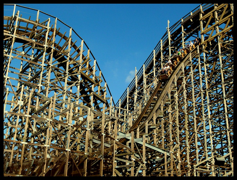 Wooden Roller Coaster pictures 781x592