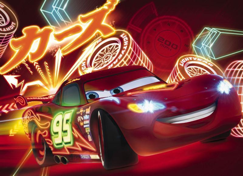 Free Download Wall Mural Photo Wallpaper For Childrens Room Cars 2 Neon Red Kids 800x579 For Your Desktop Mobile Tablet Explore 48 Car Wallpaper For Kids Room Cars Wallpaper